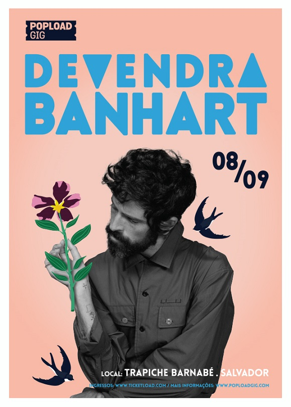 Show do Devendra Banhart no Trapiche Barnabé